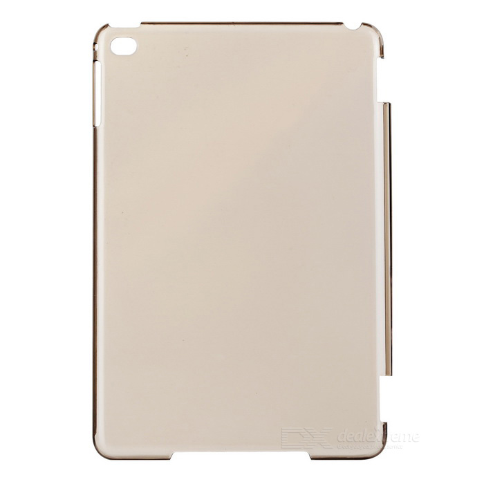 Protective Plastic Back Case Cover for IPAD MINI 4 - Transparent Black