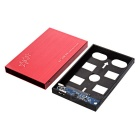 "USB 3.0 to 2.5"" SATA HDD Hard Drive Disk Enclosure Case - Red"