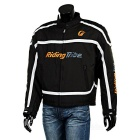 Riding Tribe JK-05 Motorcycle Wind-proof Warm Riding Clothes - Black (XL)