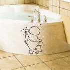 Children's Waterproof Hand-carved Removable Room Bathroom Wall Sticker