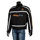 Riding Tribe JK-05 Motorcycle Wind-proof Warm Riding Clothes - Black (XXL)