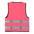 Salzmann Outdoor Waterproof Cycling Reflective Vest - Pink (S)