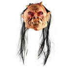Halloween Party Cosplay Red Eyes Ghost Style Rubber + Nylon Face Mask