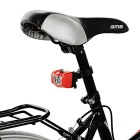Seat Post Mounted 5-Emitter 3-Mode Bike Taillight Red Light - Red