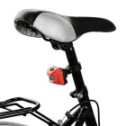 Seat Post Mounted 3-Emitter 3-Mode Bike Taillight Red Light - Red