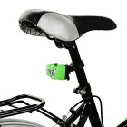 Seat Post Mounted 5-Emitter 3-Mode Bike Taillight Red Light - Green