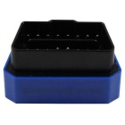 Bluetooth 4.0 OBDII Code Reader for IOS & Android - Blue