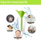 Portable Mini USB Clover Humidifier w/ Water Cup - Green