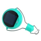 Solar LED Light Lamp for Outdoor Camping Household Emergency - Green