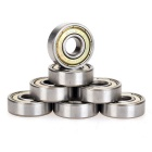 EC-BHCS-5 Skateboard Longboard Bearing Speed Skating - Silver (8PCS)