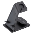 Charging Stand Station Dock Cradle for APPLE WATCH IPHONE / IPAD - Black