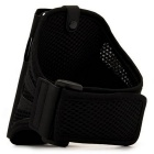 Mesh Sports Arm Band for Samsung Galaxy S6 - Black