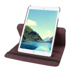 Smart PU Leather Case Cover w/ Rotating Stand for IPAD MINI 4 - Brown