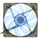 MAIKOU 025A PC Chassis Cooling Fan - Black + Blue