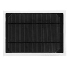 6W 9V 0.67A PET Monocrystal Solar Power Panel - Black + Army Green
