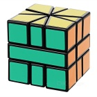 Irregular Shaped Magic IQ Cube - Black + Multicolor