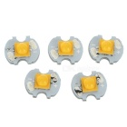 3W 210lm 3200K Warm White R3 LED Emitter for Flashlight (DC 3.2~3.6V / 5PCS)
