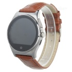 R11 Bluetooth Smart Watch w/ Heart Rate Monitor, Remote Camera - Brown