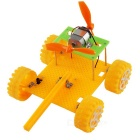 DIY Assembling Educational Jet Tank Toy for Children - Yellow