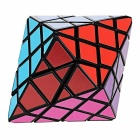 Educational Irregular Dodecahedron Magic IQ Cube Puzzle Toy - Black