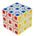 5 x 5 x 5 Educational Cube Puzzle Spielzeug - White + Multicolor