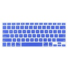 "ENKAY Protective Keyboard Film Guard for 13.3"" / 15.4"" MACBOOK PRO w/ Retina Display - Deep Blue"