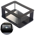 NEJE DIY HD Pyramid 3D Holographic Projecting MV Projector Case Kit - Black + Transparent
