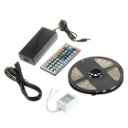 72W Waterproof LED Light Strip RGB 300-SMD w/ Remote (EU Plug / 5m)