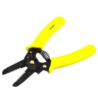 Jtron Big High-carbon Steel Stripping Pliers - Black + Yellow