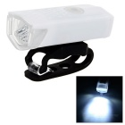 CTSmart Waterproof USB Powered Highlight 4-Mode 3-LED Bike Headlamp White - White