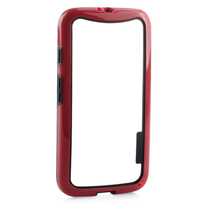Durable & Ultrathin Protective Frame for Moto G - Red + Black