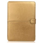 "ASLING ASL-903 Protective PU Leather Flip Open Case for Macbook Retina 13.3"" - Golden"