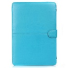 "ASLING ASL-903 Protective PU Leather Flip Open Case for Macbook Retina 13.3"" - Blue"
