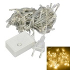 JIAWEN 4W 100-LED 8-Mode Warm White Light Christmas String Light (10m)