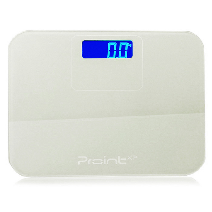 "Prointxp BH-S63W Step-On 3"" Bathroom Body Scale (0.1~150kg)"