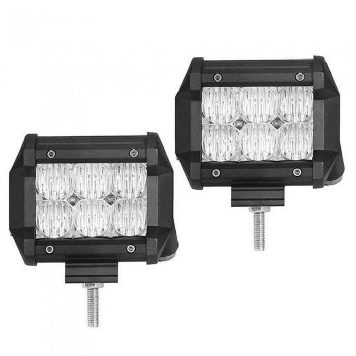 30W 6-LED Off-road 4WD UTV Worklight Bar Lamp Flood White 6000K (2PCS)