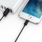CARVE 8Pin Lightning to USB 2.0 Cable for IPHONE / IPAD - Black (20cm)
