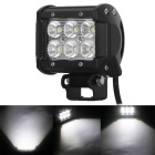 18W 6-LED Off-road 4WD UTV Driving Lamp Worklight Bar Flood Beam 1530lm - Black (10~30V)