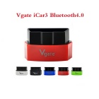 Vgate Bluetooth 4.0 OBDII Code Reader for IOS & Android - Black