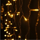 JIAWEN 4W 100-LED 8-Mode Yellow Light Christmas String Light (3m)