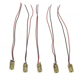6.5 Small PMD 2~5mW Laser Module Boards - Golden (5PCS)