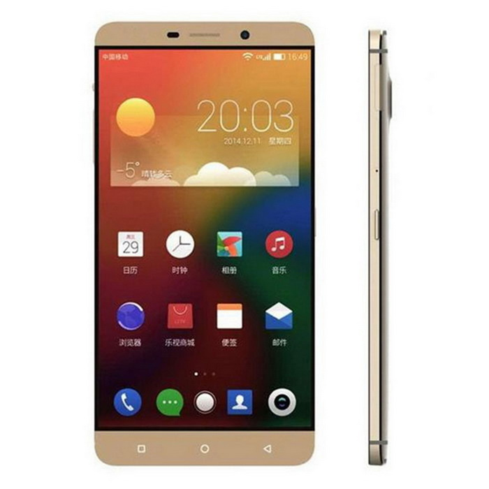 Letv Le Max Snapdragon 810 4G Phone w/ 4GB RAM, 64GB ROM - GoldenAndroid Phones<br>Form  ColorGoldenRAM4GBROM64GBBrandOthers,LetvModelMXAX900Quantity1 DX.PCM.Model.AttributeModel.UnitMaterialIPS + ABSShade Of ColorGoldTypeBrand NewPower AdapterUS PlugsHousing Case MaterialABSNetwork Type2G,3G,4GBand Details2G: GSM 850/900/1800/1900MHz 3G: WCDMA 850/900/1900/2100MHz 4G: FDD - LTE 1800/2100/2600MHzData TransferGPRS,HSDPA,EDGE,LTE,HSUPANetwork ConversationOne-Party Conversation OnlyWLAN Others,IEEE 802.11 a/b/g/n/acSIM Card TypeMicro SIMSIM Card Quantity2Network StandbyDual Network StandbyGPSYesNFCYesInfrared PortYesBluetooth VersionOthers,V4.1Operating SystemAndroid 5.0CPU ProcessorMediaTek helio X10 2.2GHzCPU Core QuantityOcta-CoreLanguageIndonesian, Malay, Danish, Dutch, German, English, Spanish, Filipino, French, Italian, Hungarian, Polish, Portuguese, Roman, Slovenian, Vietnamese, Turkish, Russian, Arabic, Thai, Korean, ChineseGPUAdreno430Available MemoryN/ASize Range5.5 inches &amp; OverTouch Screen TypeCapacitive ScreenScreen ResolutionOthers,2560 x 1440Screen Size ( inches)Others,6.33Camera PixelOthers,21.46MPFront Camera Pixels4.0 DX.PCM.Model.AttributeModel.UnitVideo Recording Resolution4K 3840 x 2160 30fpsFlashYesAuto FocusYesTouch FocusYesTalk Time455-600 DX.PCM.Model.AttributeModel.UnitStandby Time280-310 DX.PCM.Model.AttributeModel.UnitBattery Capacity3400 DX.PCM.Model.AttributeModel.UnitBattery ModeNon-removablefeaturesWi-Fi,GPS,Bluetooth,OTGSensorG-sensor,Proximity,Others,Light sensors, hall sensors, magnetic sensors, fingerprint identification, gyroscopeWaterproof LevelIPX0 (Not Protected)Shock-proofNoI/O InterfaceMicro USB,SIM SlotUSBMicro USB v2.0Format SupportedAAC/AAC+/AAC++/AMR/AWB/MIDI/MP3/WAV /RAW/WMA/FLAC/DD/DD+/DTS-LBR/DTS-HD/MP4/Ts/ASF/WMV/MKV/Webm/AVI/DivX/3gp/3g2JAVAYesTV TunerNoPacking List1 x Cell phone1 x Cable (100cm)1 x GSM card pin1 x Charger (US plug / 100~240V)<br>