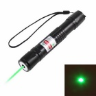 KF-681 520nm Green Square Laser Pointer - Black (1x18650)
