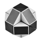 1 x 24 Changing Magic Ruler Puzzle Cube - Black + White