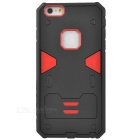 2-in-1 Detachable Protective TPU + PC Back Case for IPHONE 6S PLUS - Black + Red