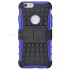 ABS Back Cover Armor Case w/ Stand for IPHONE 6S - Purple + Black