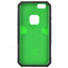 2-in-1 Detachable TPU + PC Back Case for IPHONE 6S - Black + Green