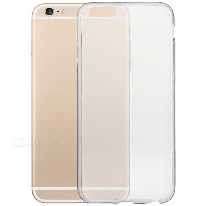S-What Ultrathin TPU Back Case for IPHONE 6 / 6S - Transparent Black