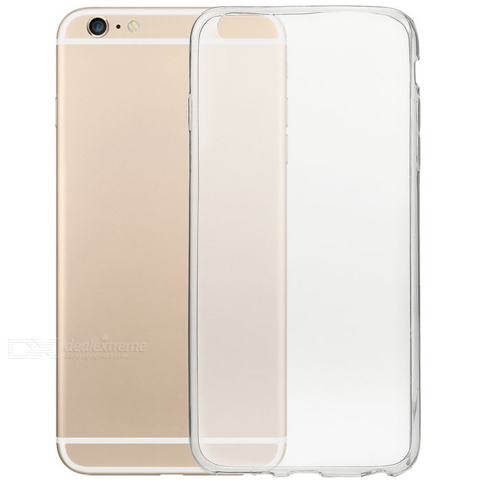 S-What TPU Back Case for IPHONE 6 PLUS / 6S PLUS - Transparent Black