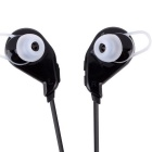 UHAPPY S02 Bluetooth V4.1 In-Ear Music Sports Earphone w/ Mic - Black